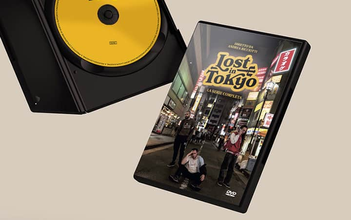DVD cover Lost in Tokyo
